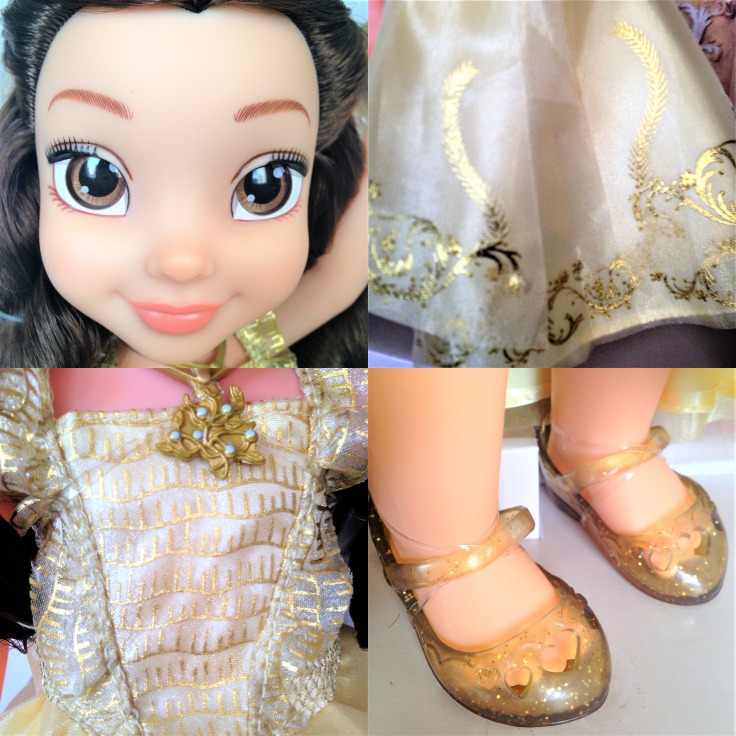 Disney Beauty and the Beast doll features