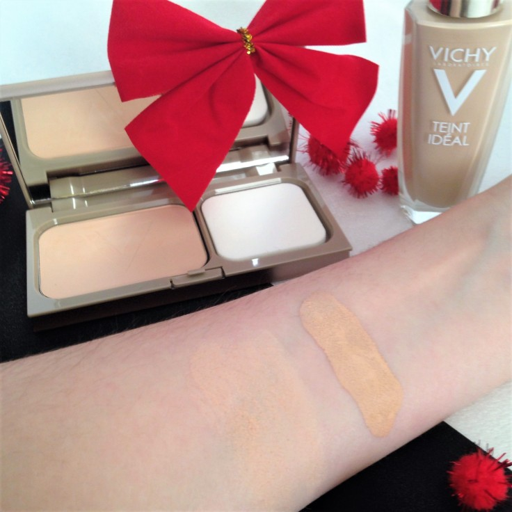 Vichy Teint Ideal Foundation swatches