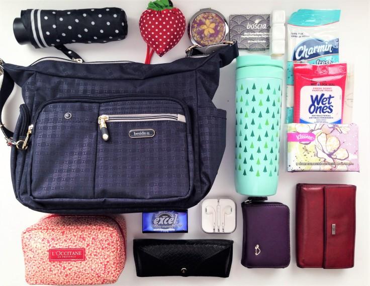 Beside-U_Ballona_RFID_bag_review_what_fits_inside