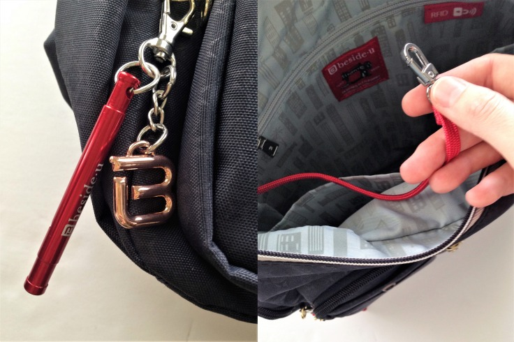 Beside-U_Ballona_RFID_bag_review_whistle_key