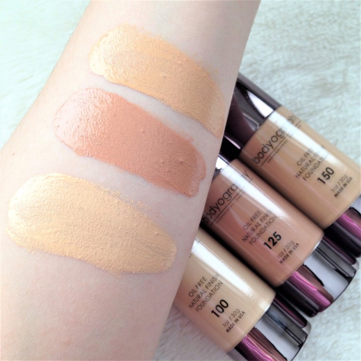 Bodyography_natural_finish_foundation_swatches_review