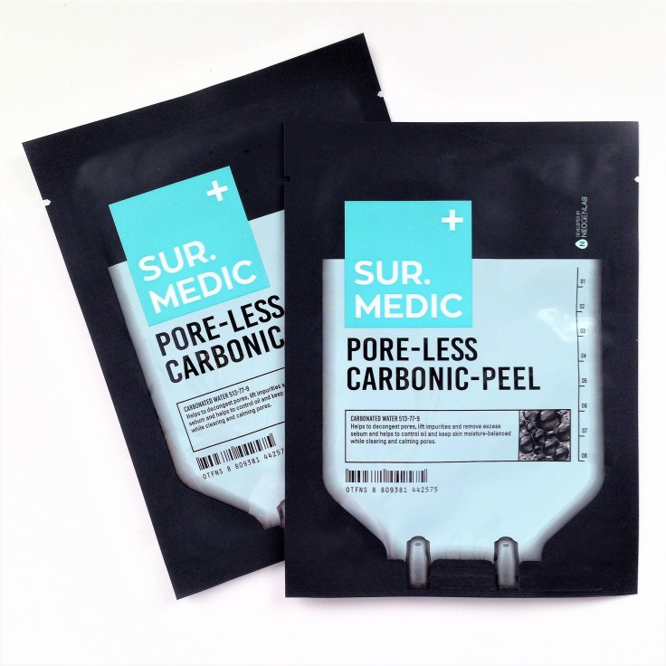 Ipsy_May_2018_review_Sur_Medic_Carbonic_peel_sheet_mask