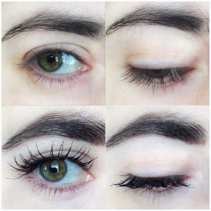 LCN_WOW_Effect_mascara_review_before_and_after