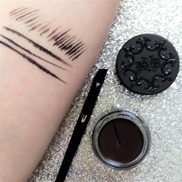 Kat_Von_D_Super_Brow_pomade_brow_brush_Influenster_voxbox_review_walnut_swatch