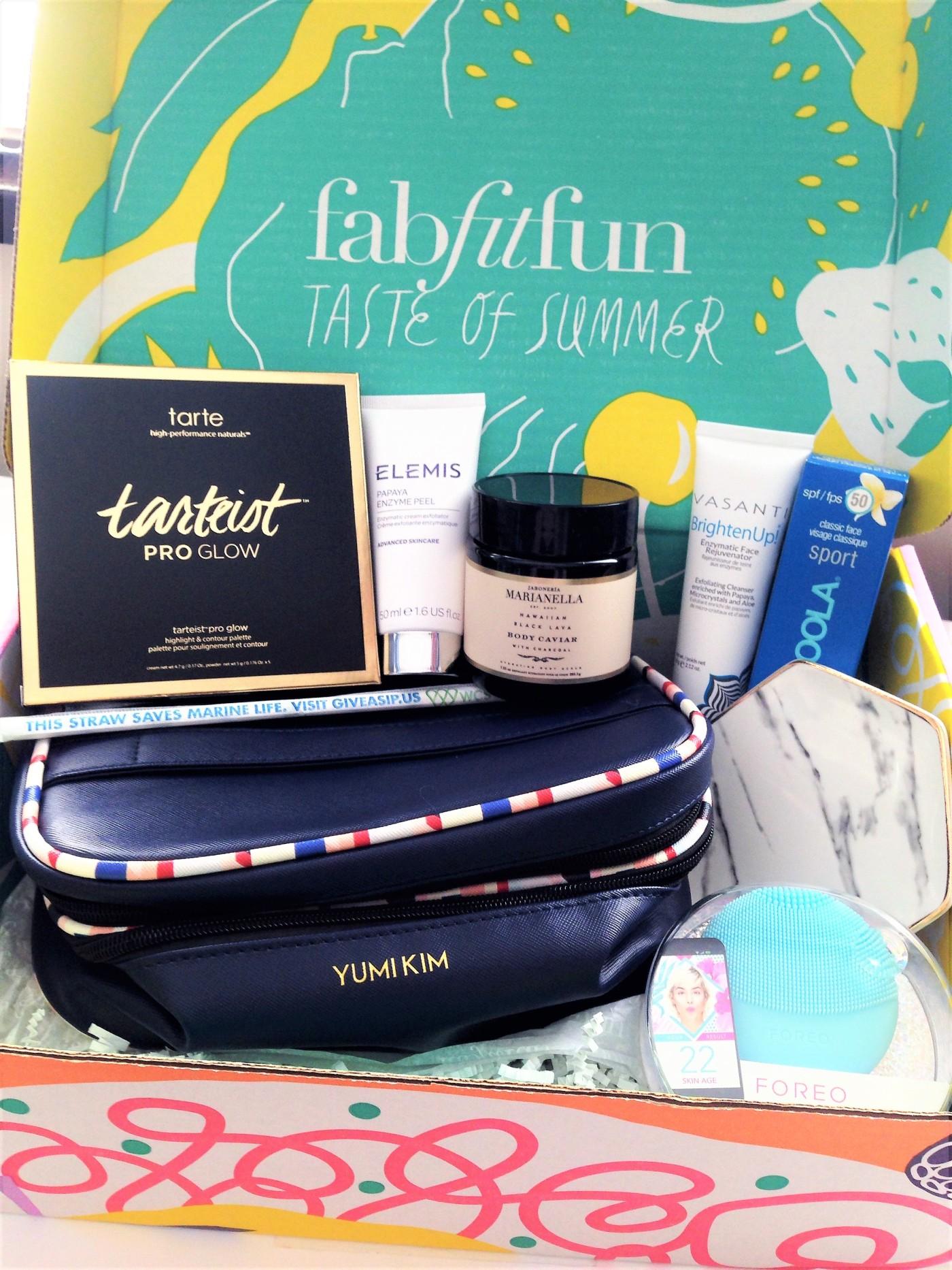 FabFitFun summer 2018 subscription box review