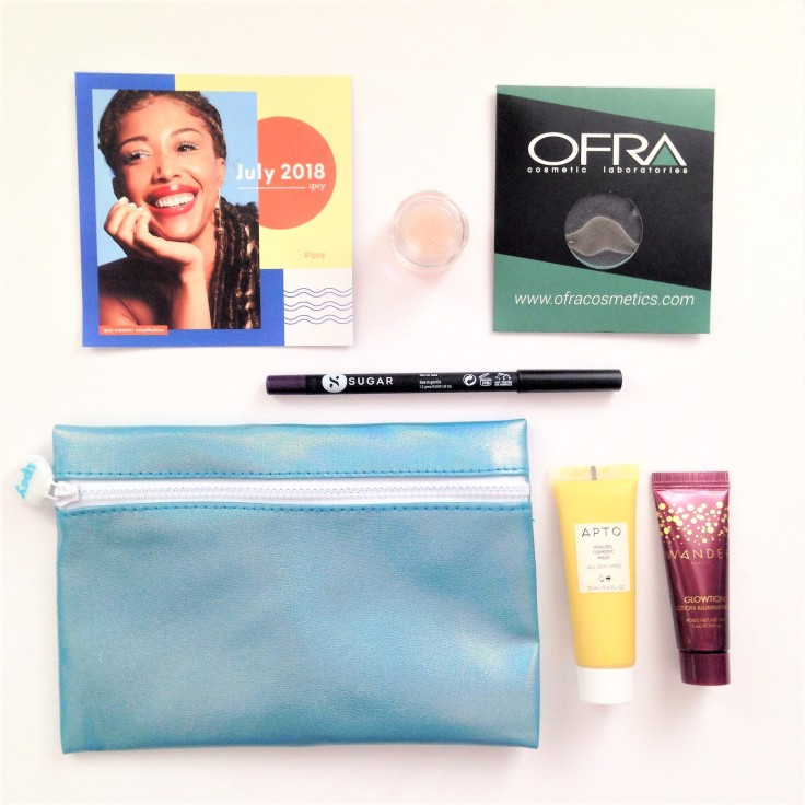 ipsy glam bag july 2018 the products