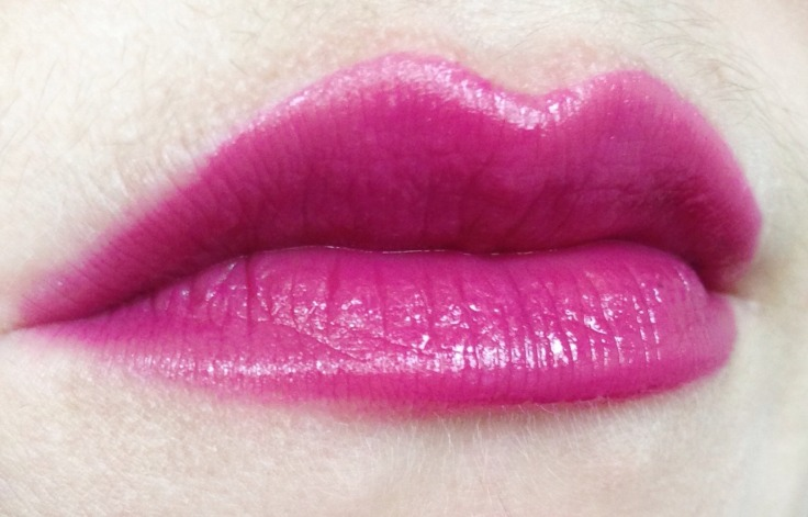 lip swatch of the nars lip glide