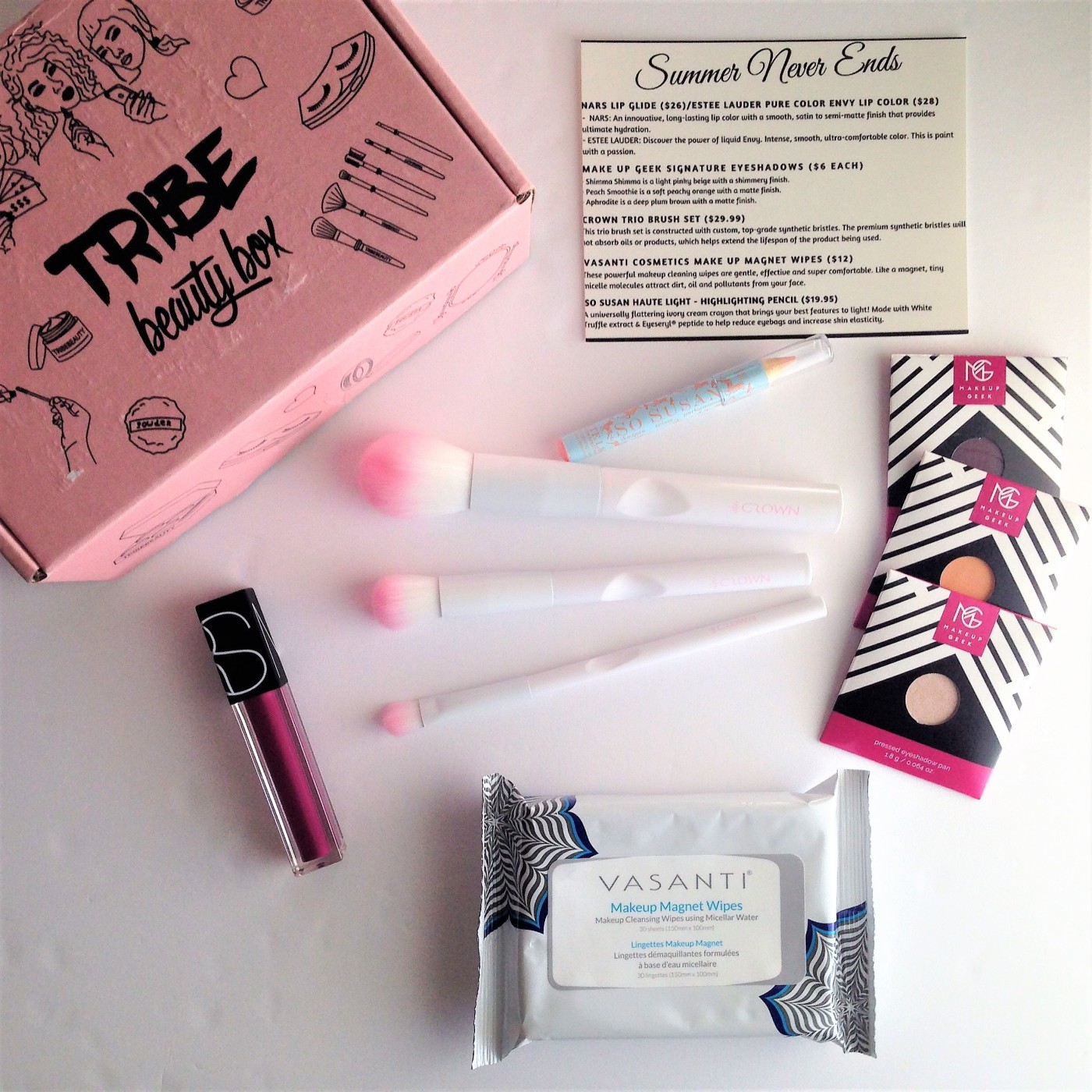 Tribe beauty subscription box August 2018 review