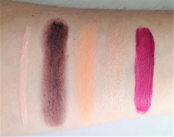 Tribe Beauty August 2018 swatches