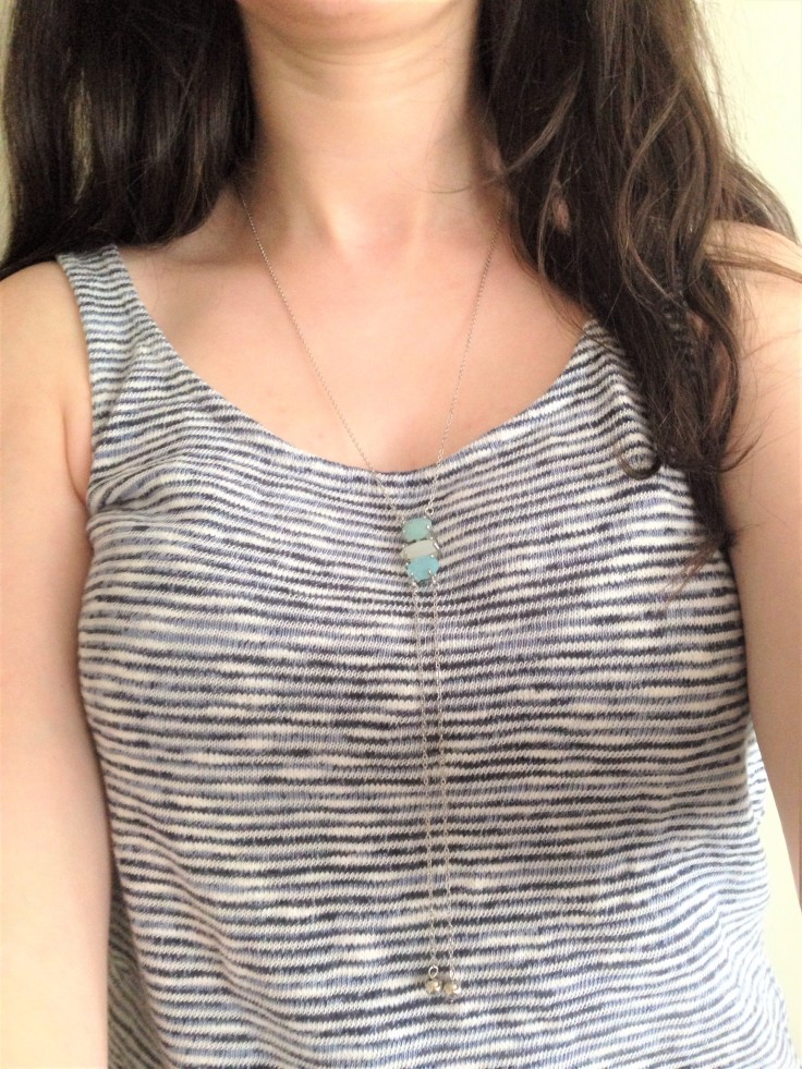 wearing playa del carmen bolo necklace