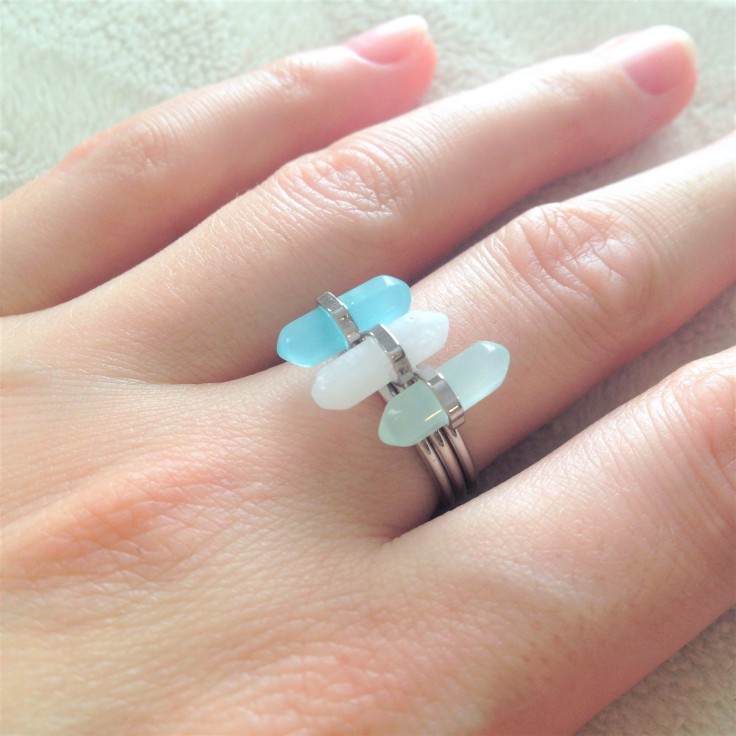 wearing playa del carmen rings
