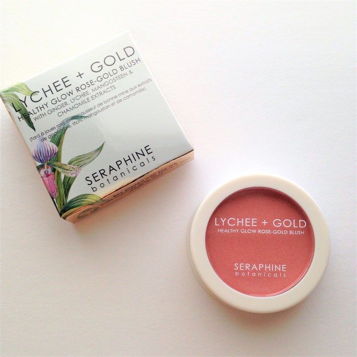 seraphine botanicals lychee gold rose-gold blush