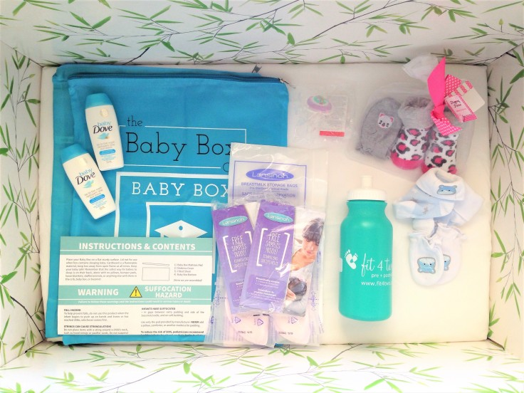 the baby box co samples 2018