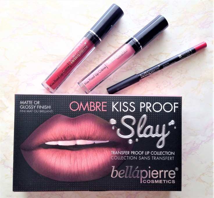 bellapiere ombre lip kit