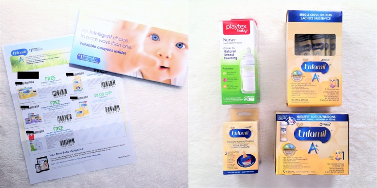 Enfamil family beginnings first baby package