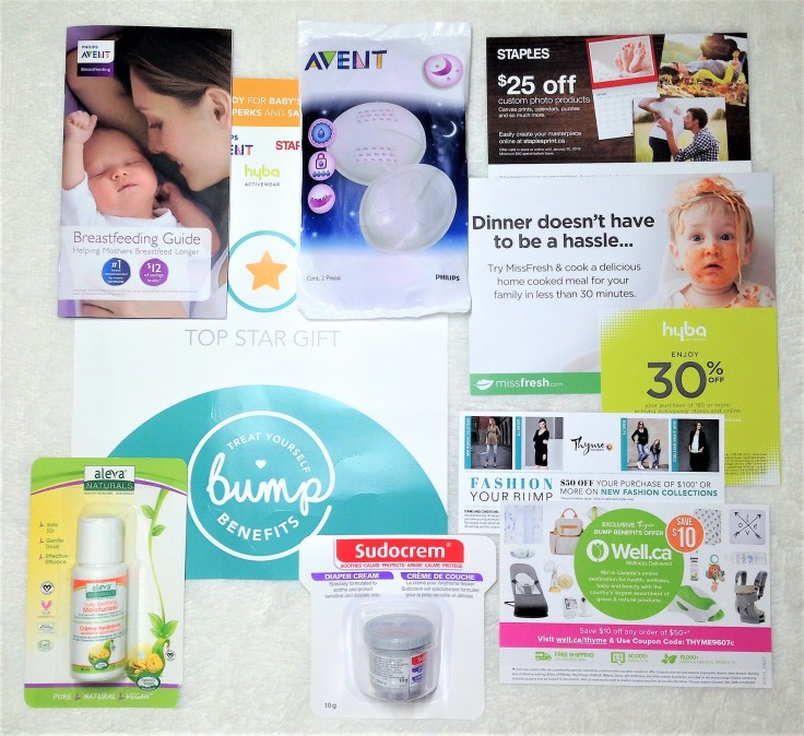 thyme maternity bump benefits top star gift
