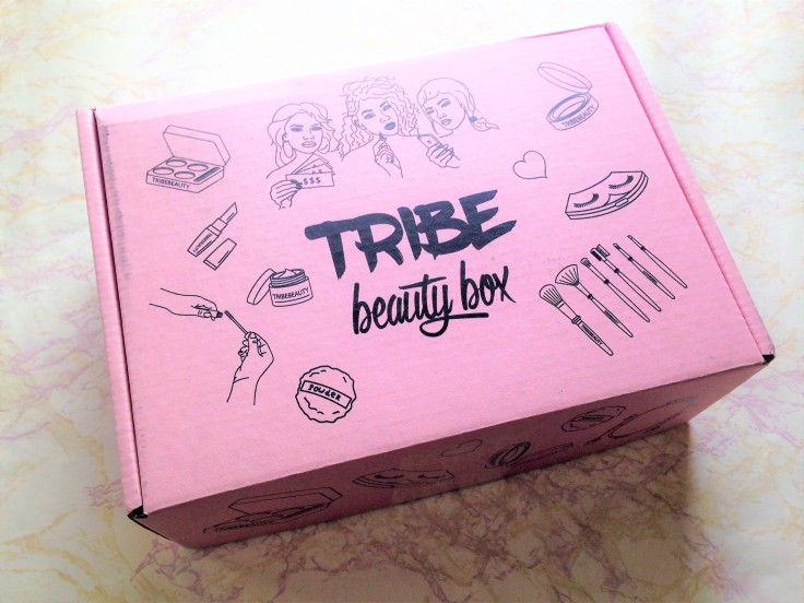 tribe beauty box packaging