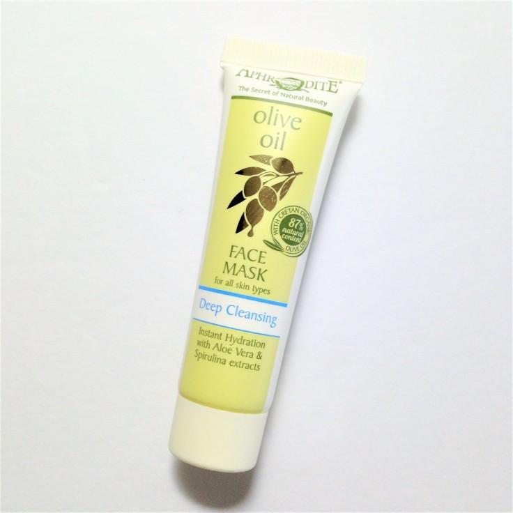 aphrodite olive oil face mask