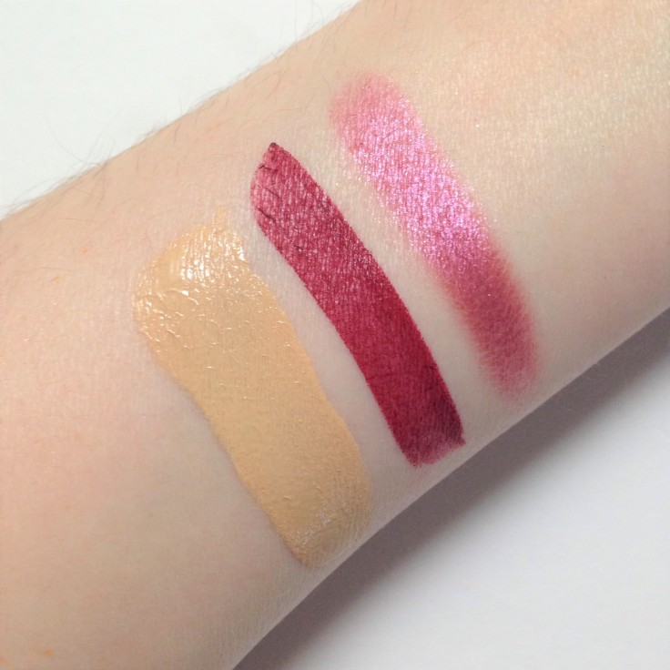 ipsy october 2018 makeup swatches