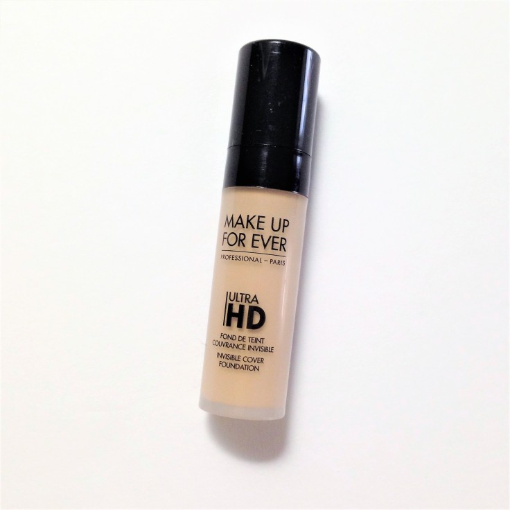 make up for ever ultra hd foundation in Y225