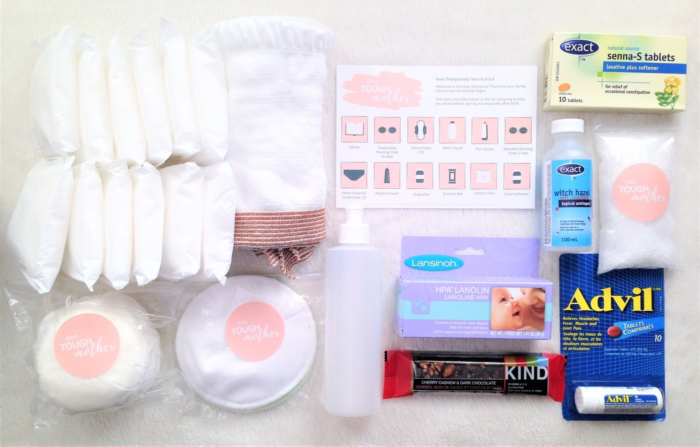 one tough mother postpartum care kit review