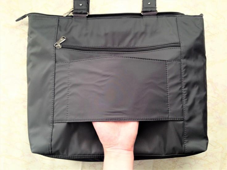 Beside U Nutopia Leather Fontana tote bag back side