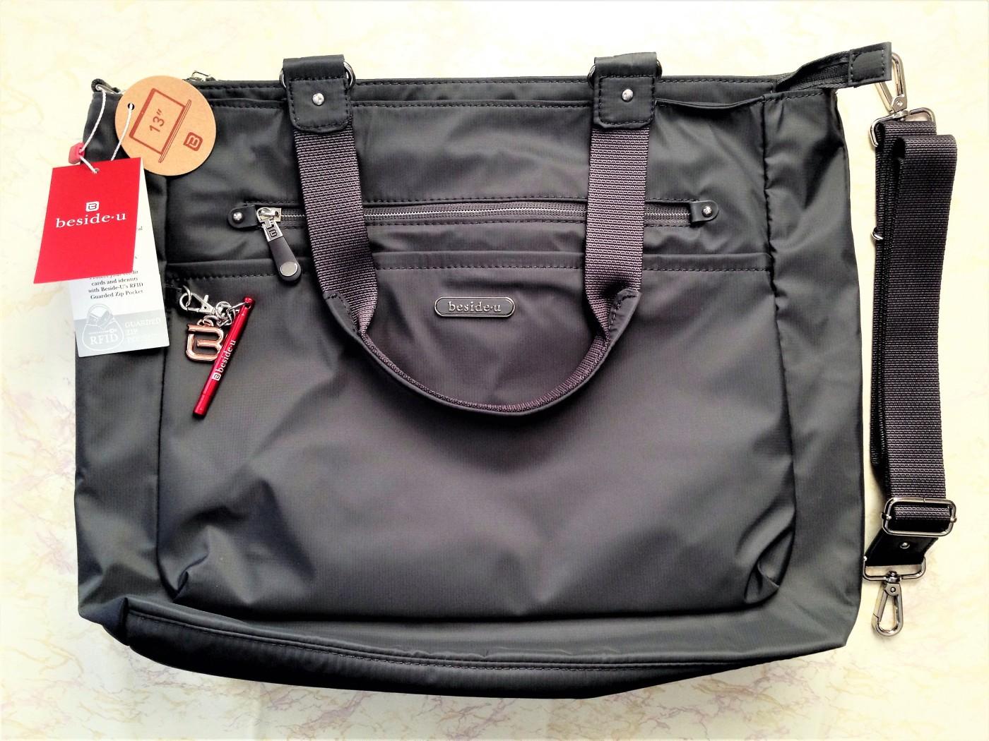 Beside U Nutopia Leather Fontana tote bag review