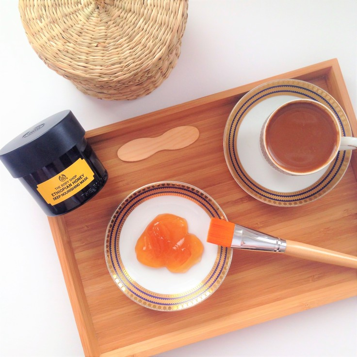 The Body Shop Ethiopian Honey Deep Nourishing Face Mask
