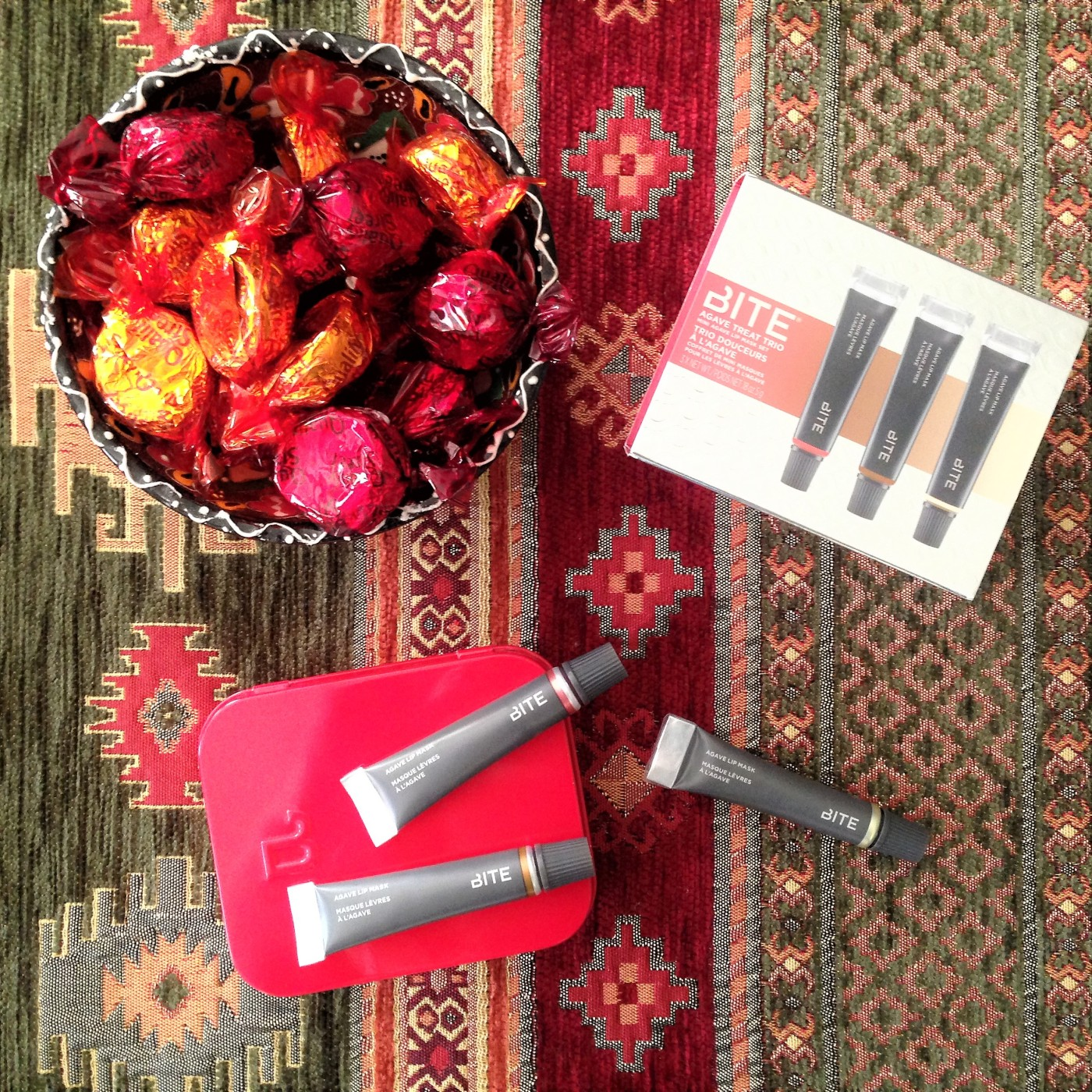 bite beauty agave lip mask set review
