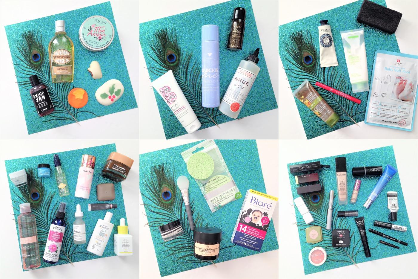 current favorite skincare, makeup, body care