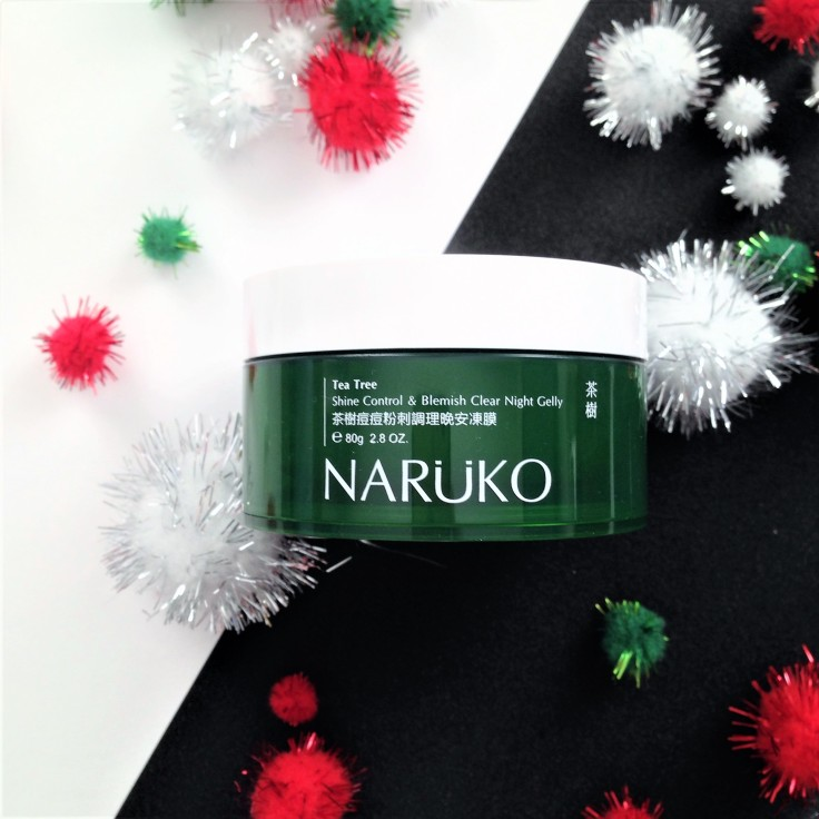 naruko tea tree night gelly review