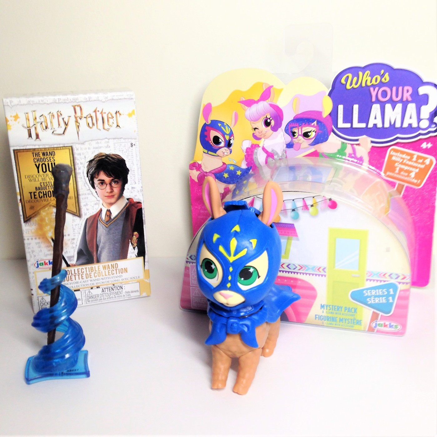 Jakks pacific Who's your llama and Harry Potter wand collectibles review