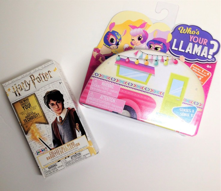 Jakks pacific Who's your llama and Harry Potter wand collectibles