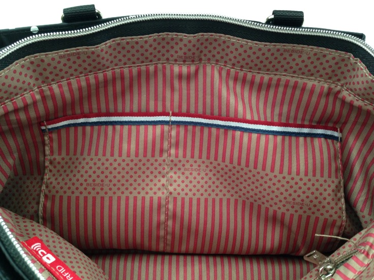 besideu nutopia star chica waterproof tote bag big compartment pockets