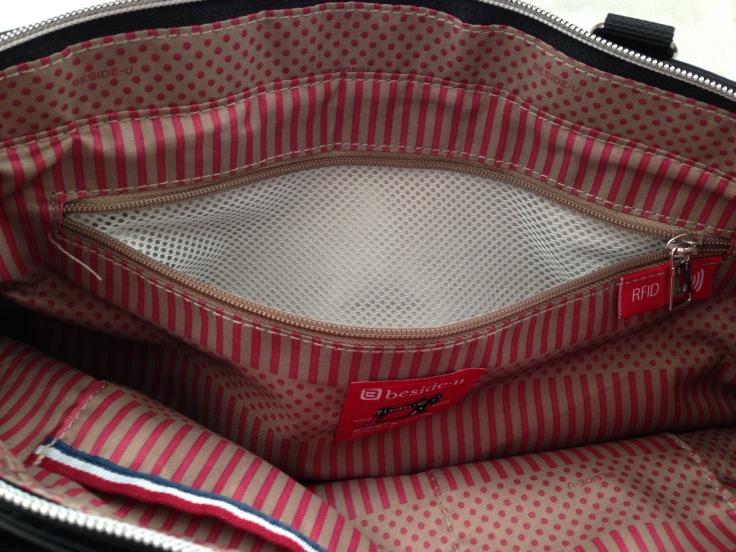 besideu nutopia star chica waterproof tote bag big compartment RFID pocket