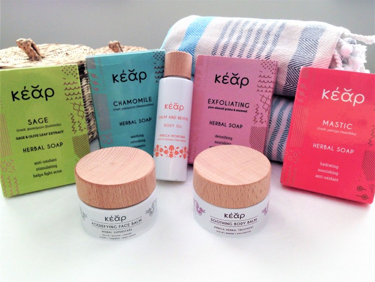 kear cosmetics soaps balms oil review