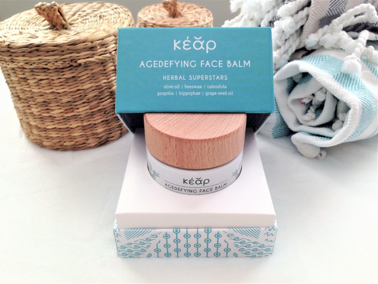 kear natural cosmetics face balm review