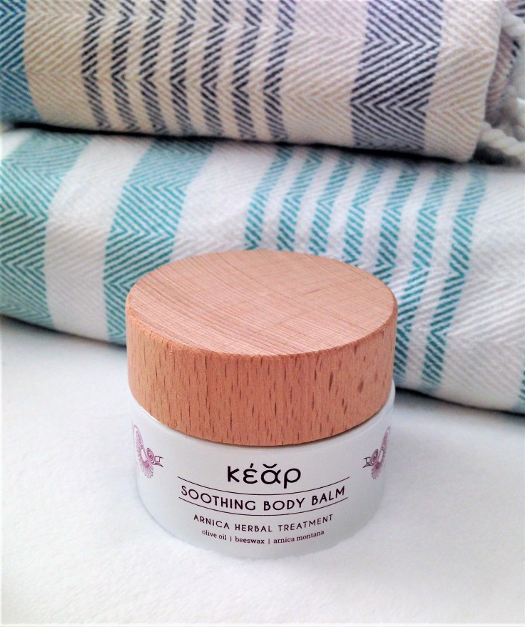 kear natural cosmetics body balm review