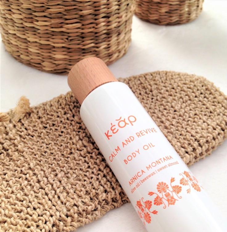 kear natural cosmetics body oil review