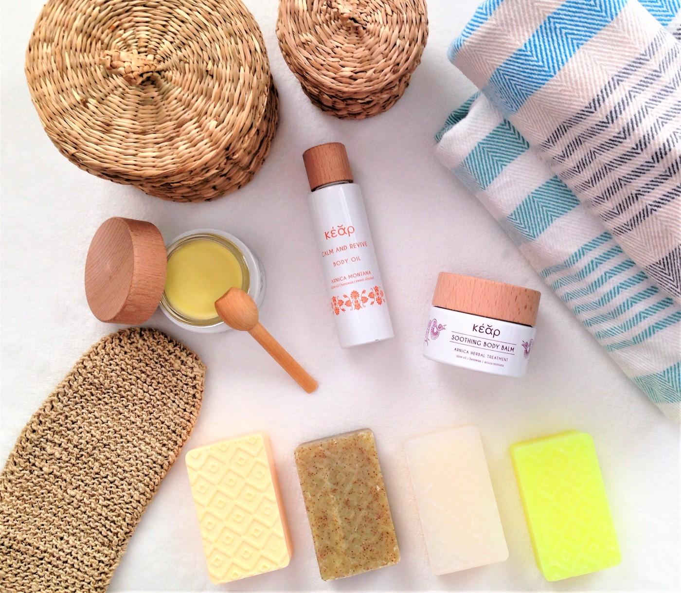 kear natural cosmetics soaps balms oil review