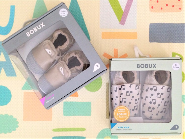 bobux canada soft sole baby shoes packaging
